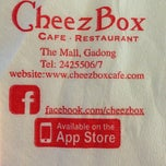 Photo taken at Cheezbox Cafe & Restaurant by Lela R. on 5/10/2013