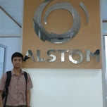 Photo taken at Alstom GRID by Dwinanto R. on 9/27/2013