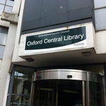 Photo taken at Oxford Central Library by Vasilije F. on 7/3/2013