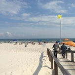 Photo taken at Gulf Shores Plantation Beaches by Franchize34 on 7/28/2013