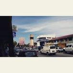 Photo taken at Pekan Tuaran by Augustine J. on 3/1/2015