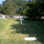 Photo taken at Grave Of Edward Ted Kennedy by Chad M. on 6/24/2012