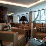 Photo taken at The Emirates Lounge (EK) by Franco M. on 7/8/2012