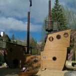 Photo taken at Pirate Ship Playground by Craig M. on 6/2/2011