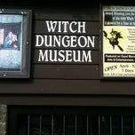 Photo taken at Witch Dungeon Museum by Kate W. on 9/15/2011