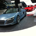 Photo taken at Audi Stand at Detroit Auto Show by FOURTITUDE.COM, The Audi Enthusiast Website on 1/9/2012