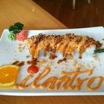 Photo taken at Cilantro Thai & Sushi by Shana V. on 7/28/2012