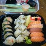 Photo taken at Nikko Sushi by Mette I. on 6/2/2012