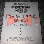 Photo taken at Bow Tie Cinemas Middlebrook Galleria by Paul B. on 11/26/2013