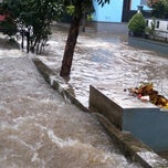 Photo taken at Komplek Polri Pondok Karya by Tom S. on 2/27/2014