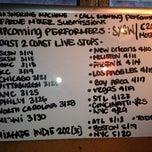 Photo taken at Coast 2 Coast Mixtapes Office by Mimi T. on 3/12/2013