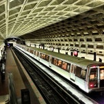 Photo taken at McPherson Square Metro Station by Robert D. on 10/7/2012