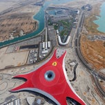 Photo taken at Ferrari World Abu Dhabi by Dasha T. on 3/31/2013