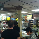 Photo taken at Subway by Justin N. on 9/26/2013