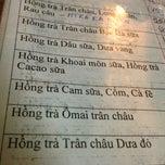 Photo taken at Hồng Trà Trân Châu Thanh Hoa by Kim N. on 3/22/2013