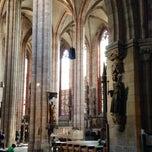 Photo taken at St. Sebald by Thomas A. on 4/19/2014