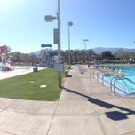 Photo taken at Palm Desert Aquatic Center by Richard B. on 2/15/2013