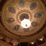 Photo taken at Národní divadlo by Maureen R. on 3/31/2013