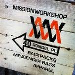 Photo taken at Mission Workshop by John V. on 12/3/2012