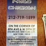 Photo taken at NYC Fried Chicken Corporation by Keeyuma B. on 5/4/2013