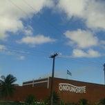 Photo taken at Posto Esso de Cruz de Rebouças-PE by Mari on 5/13/2013