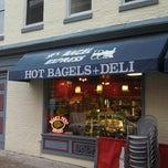 Photo taken at JP's Bagel Express / Sunrise Bagels Cafe by Bill V. on 5/11/2013