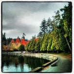 Photo taken at Stanley Park by Anders F. on 11/13/2013