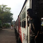 Photo taken at Maharagama Railway Station by Escott Milx on 1/4/2014