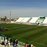 Photo taken at Stade Slaheddine Bey by Mostfa S. on 4/11/2015