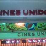 Photo taken at Cines Unidos by Anthony V. on 3/27/2013