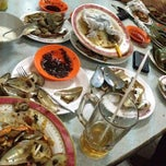 """Photo taken at Santiga Seafood """"Abeng"""" Benhil by Reza Aditya I. on 4/16/2013"""
