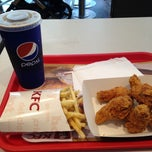 Photo taken at KFC by Daniella G. on 4/15/2013
