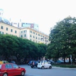 Photo taken at Piazza Paolo da Novi by Co D. on 6/13/2013