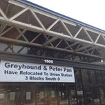 Photo taken at Greyhound Bus Station by Kevin K. on 12/2/2012