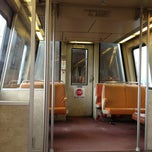 Photo taken at WMATA Yellow Line Metro by Kevin K. on 6/13/2013