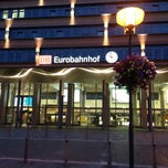 Photo taken at Saarbrücken Hauptbahnhof by Gregor E. on 6/27/2013