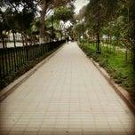 Photo taken at Parque Mariscal Castilla by Lucia R. on 4/15/2013