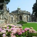 Photo taken at Villa Visconti Borromeo Litta by Andrea M. on 7/16/2013