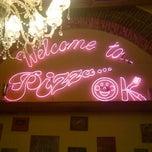 Photo taken at Pizza Ok by zeynep y. on 1/24/2013