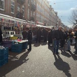 Photo taken at Albert Cuyp Markt by Suzanne N. on 4/6/2013