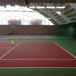 Photo taken at Kronprinsens Tennishall & Tenniscenter by Jenny N. on 4/24/2013