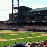 Photo taken at AutoZone Park by Jerry D. on 5/8/2013