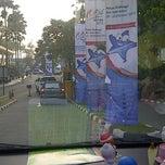 Photo taken at Gelanggang Mahasiswa Soemantri Brojonegoro by Sylvia on 10/18/2013