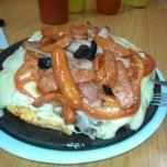 Photo taken at Sandwicheria El sabor de Toñito by Cintia R. on 5/6/2015