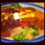 Photo taken at Assab Eritrean Restaurant by Rong N. on 10/27/2012