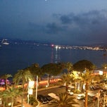 Photo taken at Grand Hyatt Cannes Hotel Martinez by Viktor V. on 7/14/2013