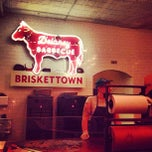Photo taken at Delaney Barbecue: BrisketTown by WillMcD on 5/12/2013