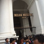 Photo taken at Indian Museum by Shinji F. on 12/14/2014