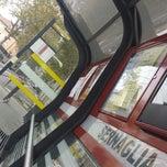 Photo taken at Capolinea Tram via Cappuccina by Nicoletta A. on 9/28/2013