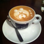 Photo taken at Lucca Café by Mimi P. on 5/1/2013